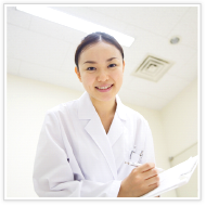直腸診と肛門鏡での診察イメージ