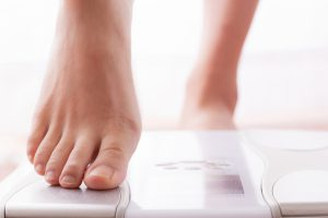 体重が顕著に減ってくる場合も