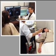 問診・視触診・乳腺超音波検査イメージ